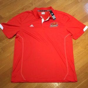 Bucknell Univ. Adidas XL orange Polo